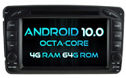 Android 10 For MERCEDES-BENZ C CLASS W203 (W2-RVT5513)