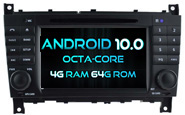 Android 10 For MERCEDES-BENZ C CLASS (W2-RVT5517)
