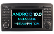Android 10 For MERCEDES-BENZ ML320/ML350/GLX164 (W2-RVT5558)