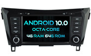 Android 10 For NISSAN QASHQAI 2014-2017 (W2-RVT5537A)