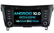 Android 10 For NISSAN QASHQAI 2014-2017 (W2-RVT5537B)