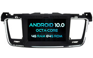 Android 10 For PEUGEOT 508 (W2-RVT5637)