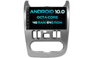 Android 10 For RENAULT DUSTER 2012 (W2-RVT5337S)