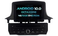 Android 10 For RENAULT Megane III 2009-2011 (W2-RVT5515B)