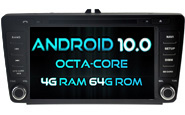 Android 10 For SKODA Octavia (W2-RVT5703)