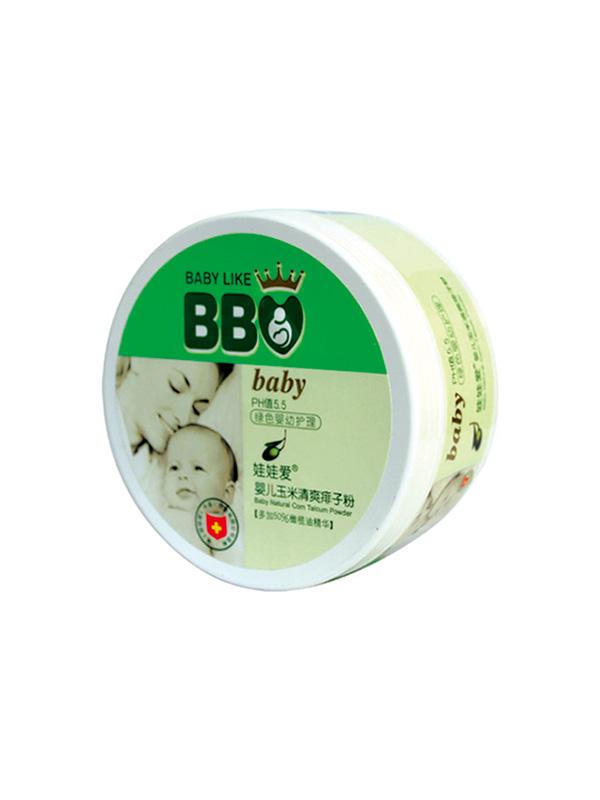婴儿天然玉米清爽痱子粉