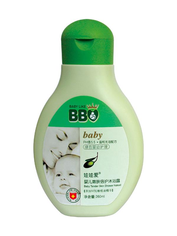 婴儿嫩肤倍护沐浴露