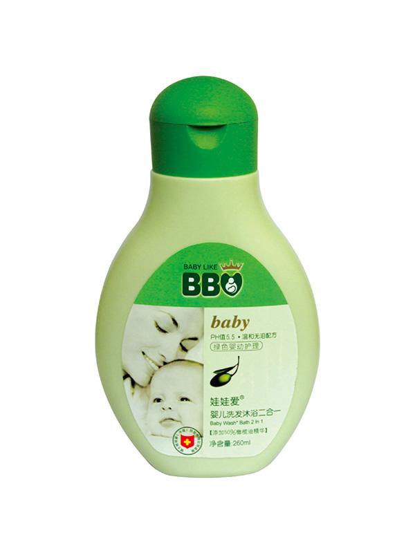 婴儿洗发沐浴二合一260ml
