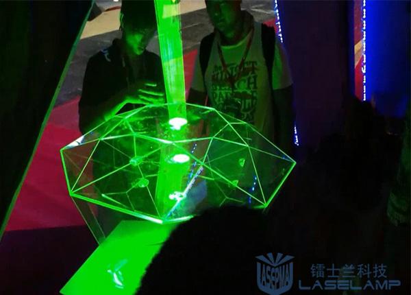 激光表演之水晶钻石