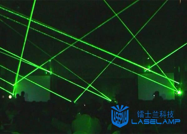 激光表演之震撼光网