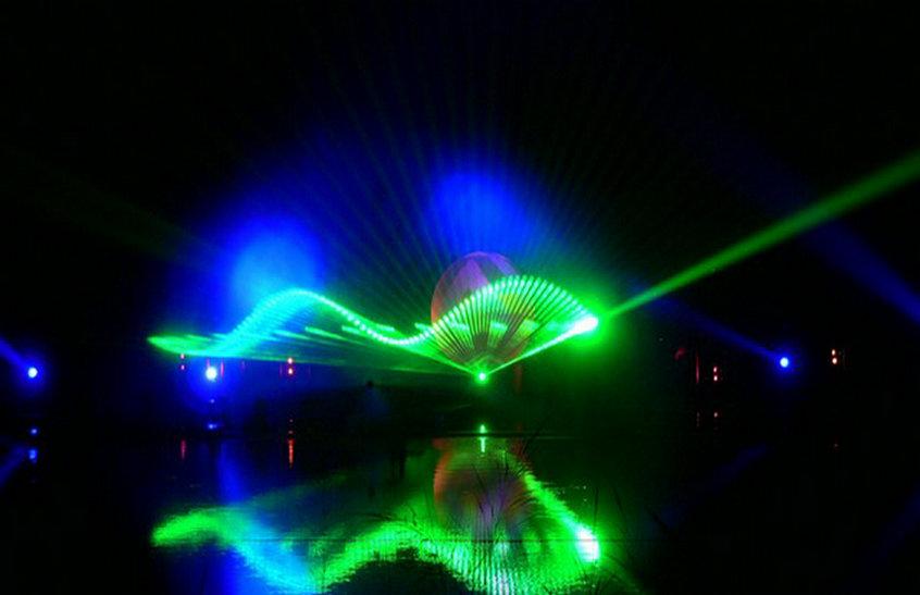 荆州绿地集团水幕激光秀