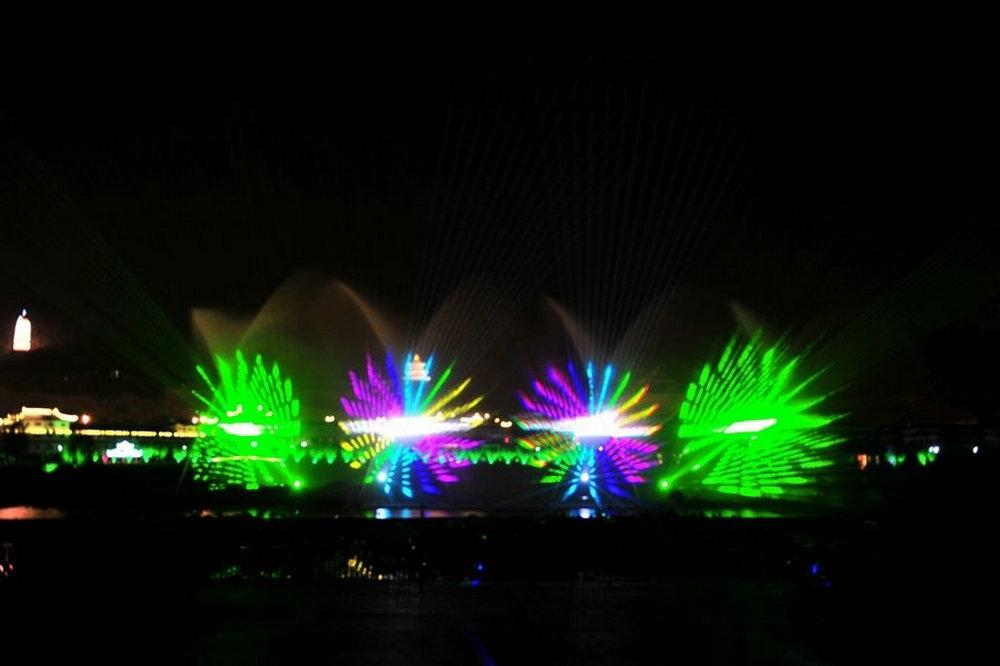 贵州三都县激光水秀