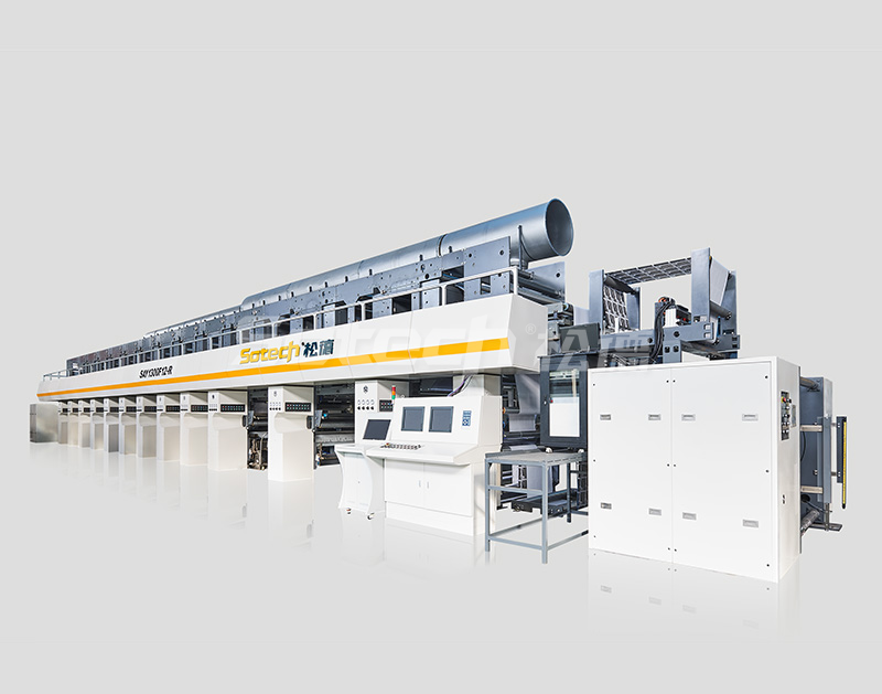 2017 Version Flexible Package High Speed Rotogravure Printing Machine (Model: SAY1300F12-R)