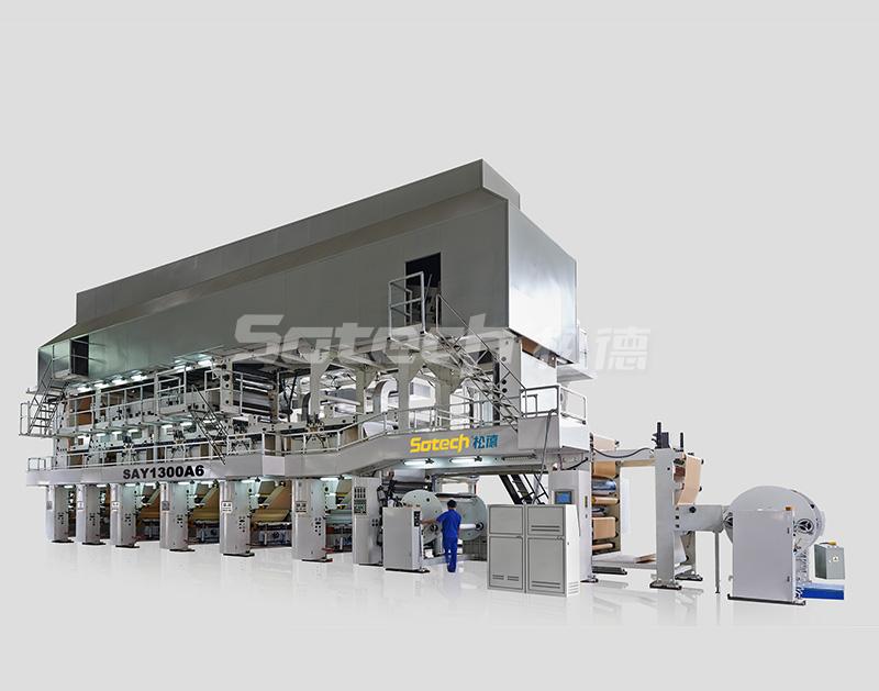 SAY1300B6 型宝丽纸凹版印刷机