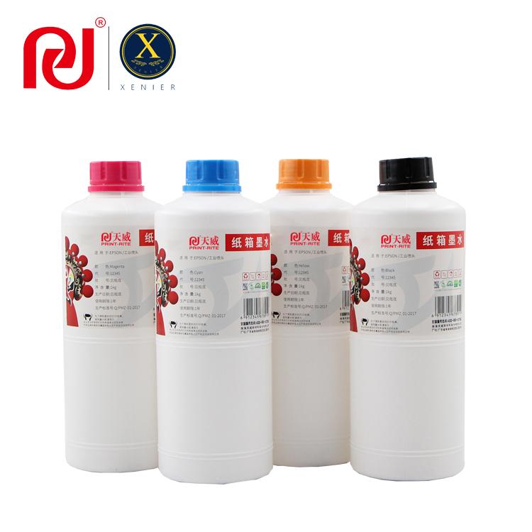 Water Based Dye Ink for Carton Box
