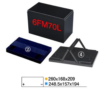 锂电塑胶外壳系列-6FM70L