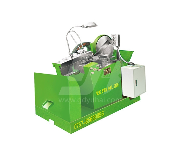 Non standard thread rolling machine - hand held thread rolling machine