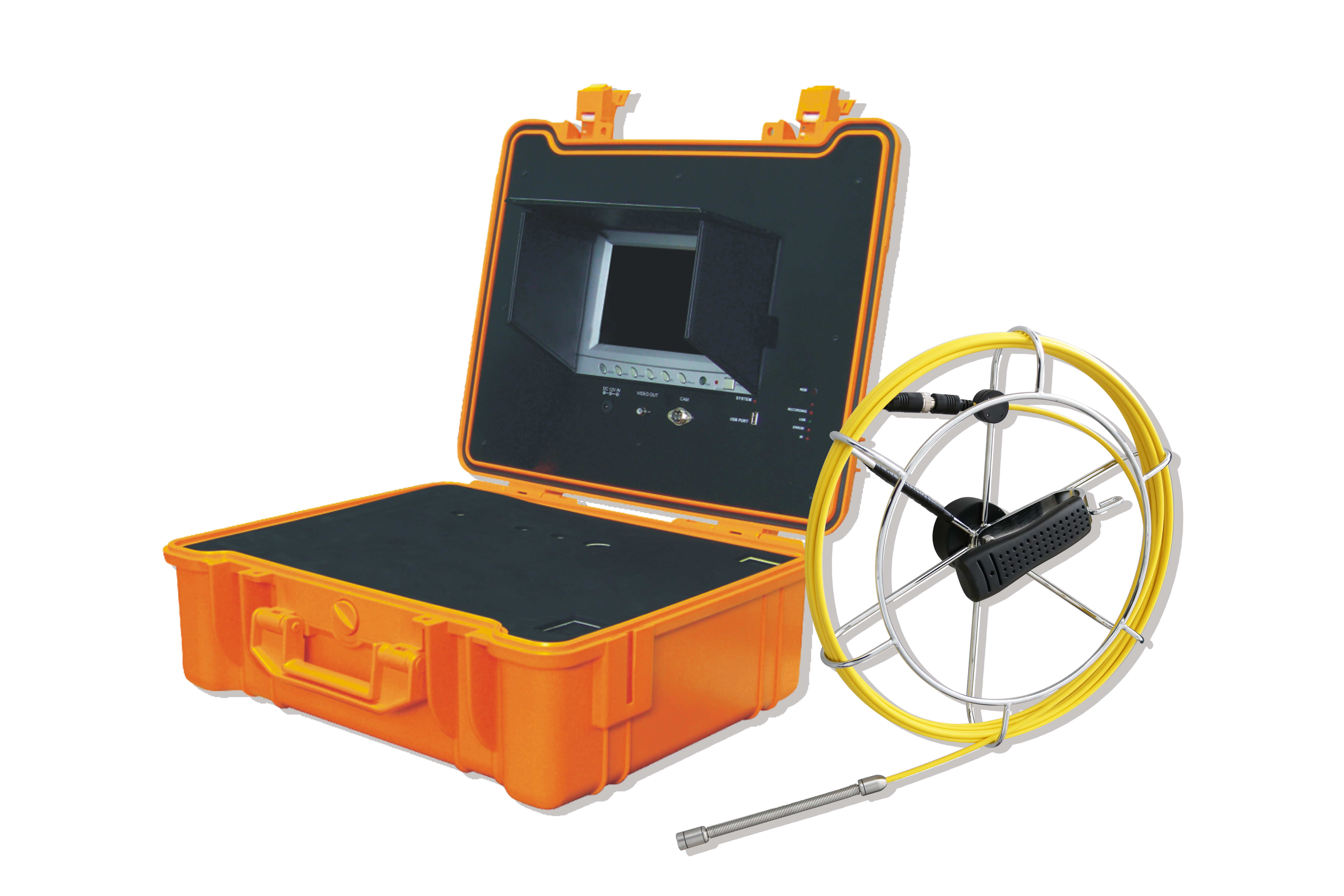 Mini Flexible Pipe Drain Sewer Inspection Camera with 13.5mm camera head