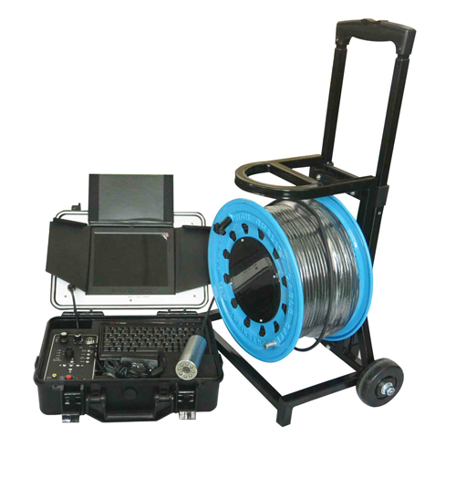 Witson Underwater Well Inspection Camera System with 8 Inch LCD Monitor