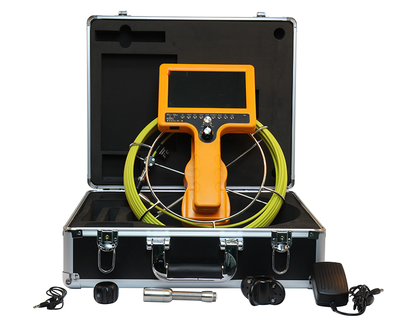 CCTV Handheld Pipe Drain Sewer Chimney Portable Inspection Snake Camera