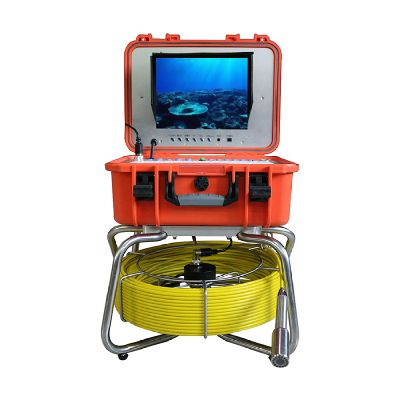 WITSON All in one Pipe Sewer Drain Plumbing Inspection Camera System With 60M cable and portable con