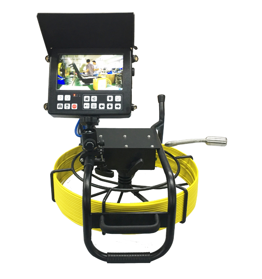 WITSON CCTV Pipe Drain Sewer Inspection Camera System with 5.2mm Cable