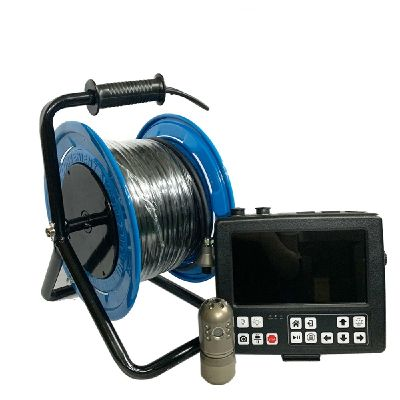 Witson Pan Tilt Chimney Underwater Side-view Borehole Well Pipe Inspection Camera System
