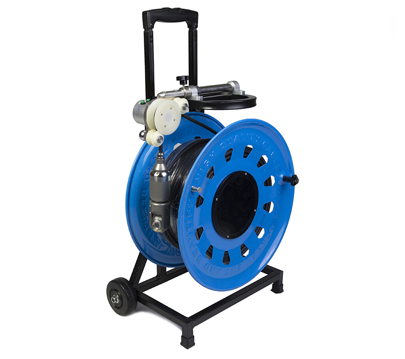WITSON High Definition Pan Tilt Rotation Underwater well Borehole Camera System