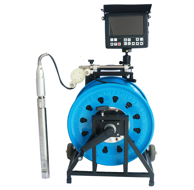 Witson Deep Underwater Borehole Inspection Camera System with max 200M cable