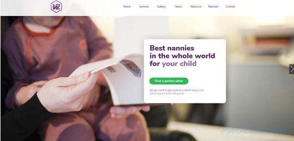 母婴网站模板T2638.jpg