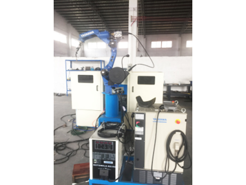 空壓機機器人(安川)焊接工作站(雙工位)