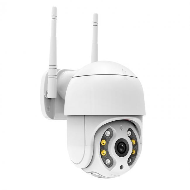 AI人形警戒联网报警摄像机
