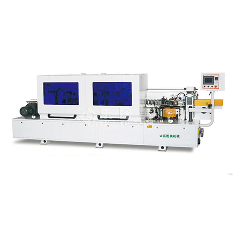 Pneumatic blade automatic edge banding machine