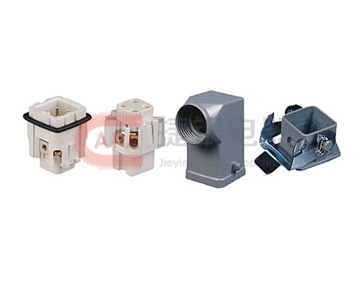 Selection of heavy duty insert,hood,connection mode&connector 3Pole Insert Set(HA Series)