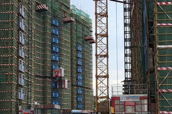 工程案例-力盛施工升降機在中建三局