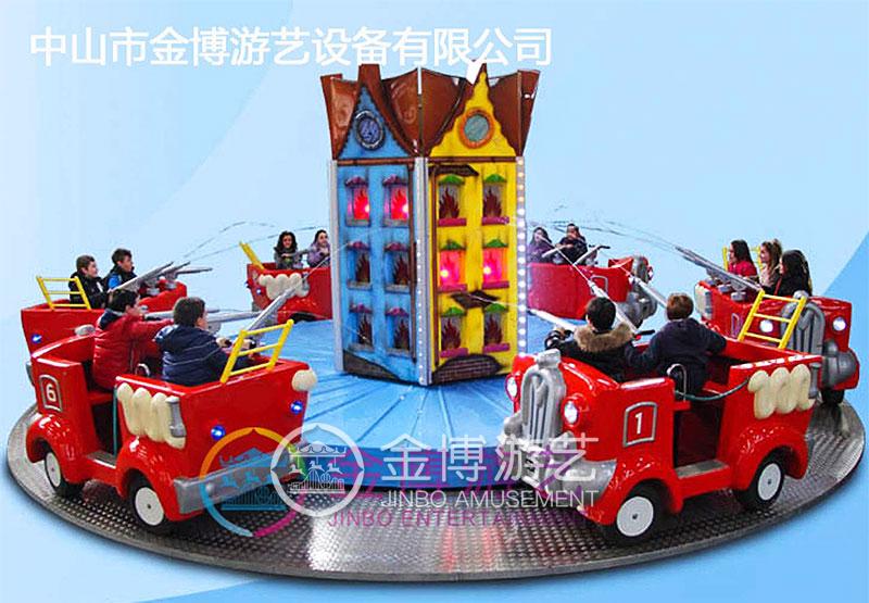 儿童游乐设备消防战车