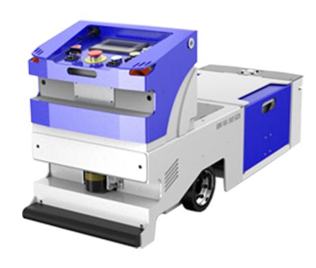 单驱单向后牵引式AGV小车—标准型