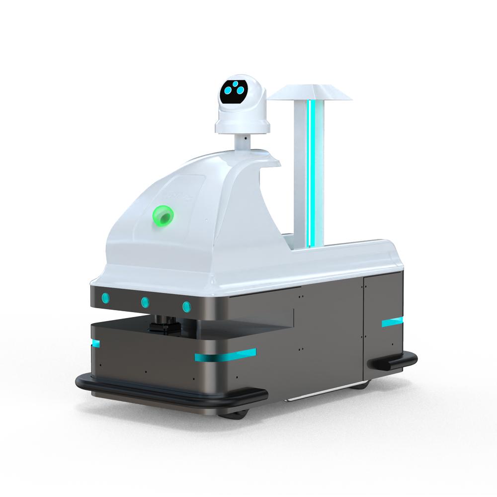 灵动丨御-智能消毒测温机器人
