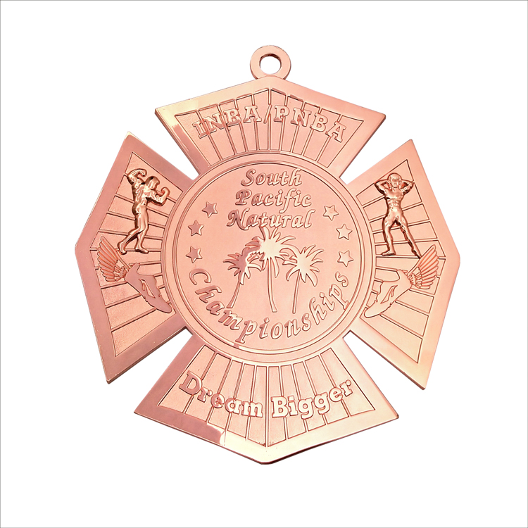 Large Sports Medal 3D Design Customize Fitness Medal