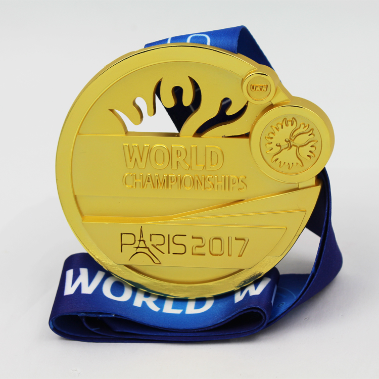 Awards Medal Fashion Custom Design 3D United World Wrestling Race Medal