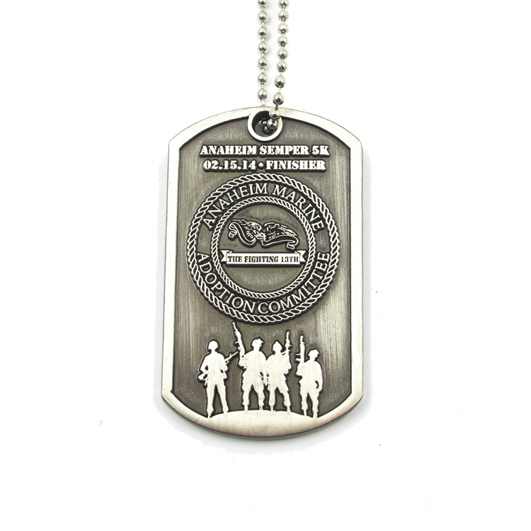 Wholesale Custom Stainless Steel Pet Id Tags Custom Metal Design Logo Dog Tags