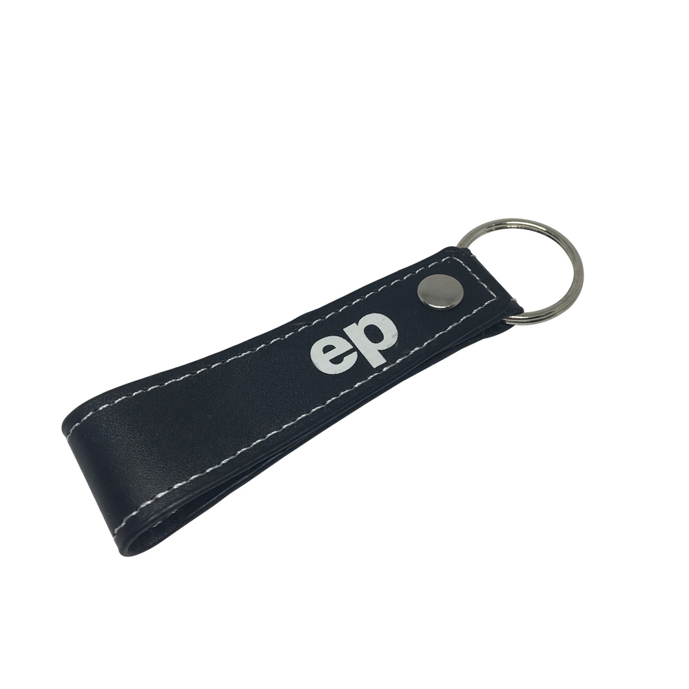 Personalized Customized High Quality Leather Keychain Hand Stamped Leather Keychain