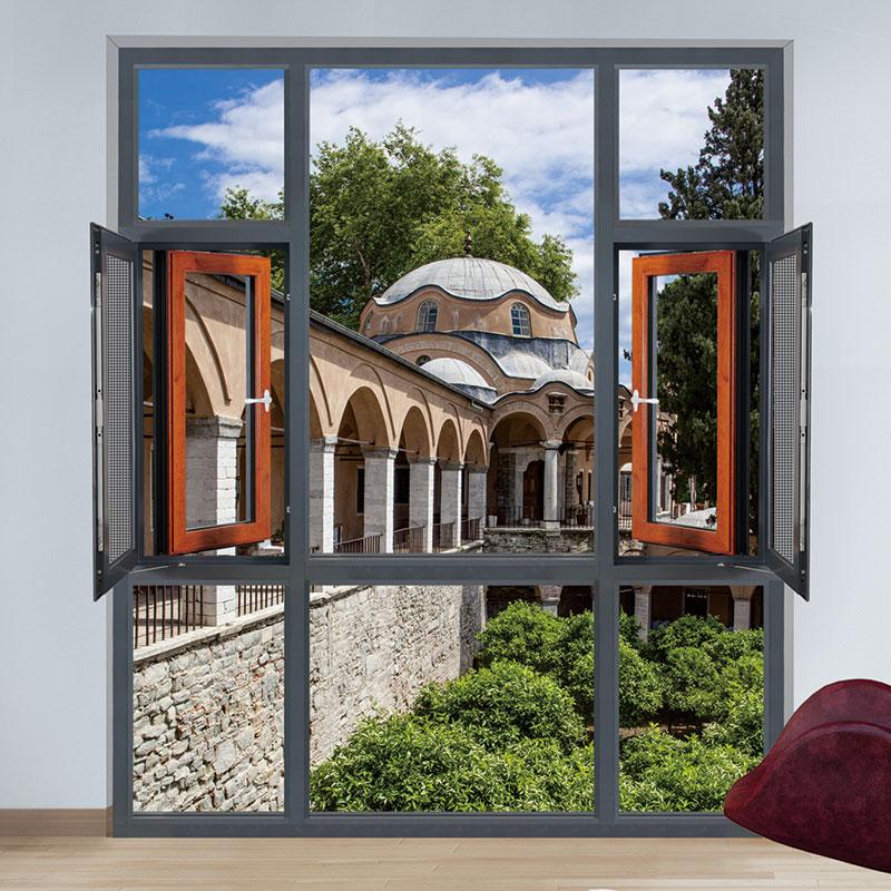 迪金一体化节能环保开平窗