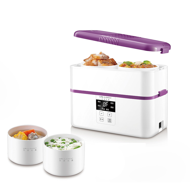浪漫紫智能蒸煮饭盒F22