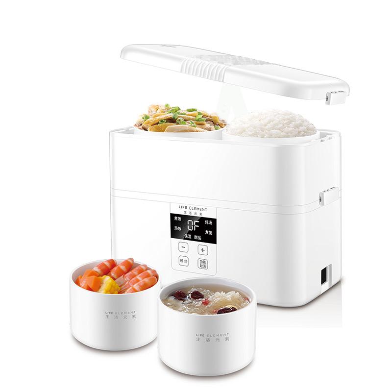 优雅白智能蒸煮饭盒F11