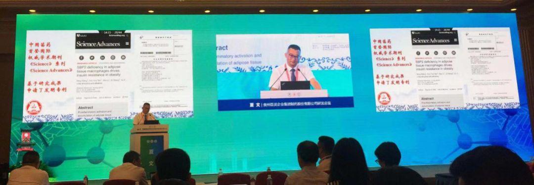 贵州百灵研发总监夏文出席2019年中国药物化学学术会议并作主题报告