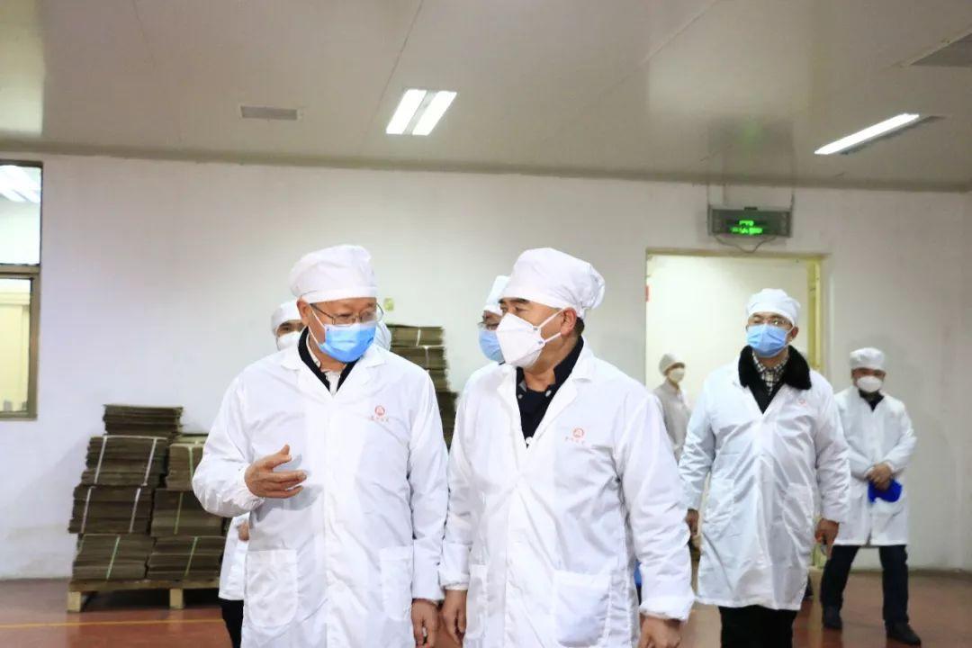 安顺市委书记陈训华率队到澳门金莎娱乐官网调研企业复工复产情况