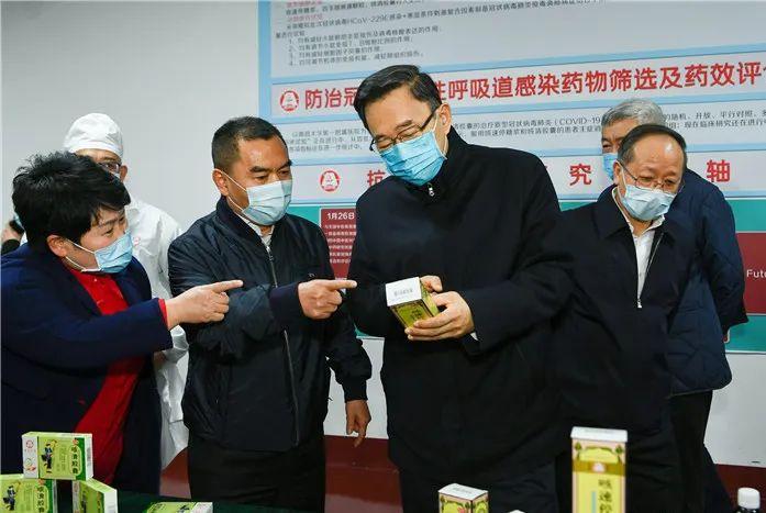 贵州省委书记孙志刚到贵州百灵视察 勉励企业持续发力科技研发