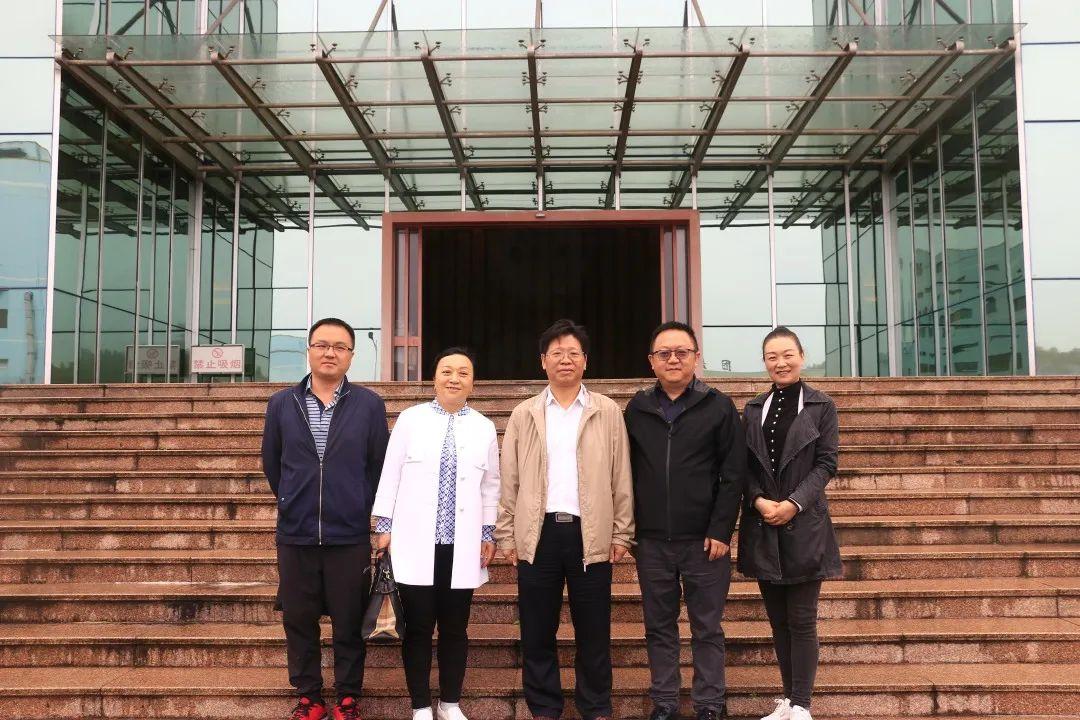 中國農林水利氣象工會主席、分黨組書記蔡毅德到永利集团下载app調研