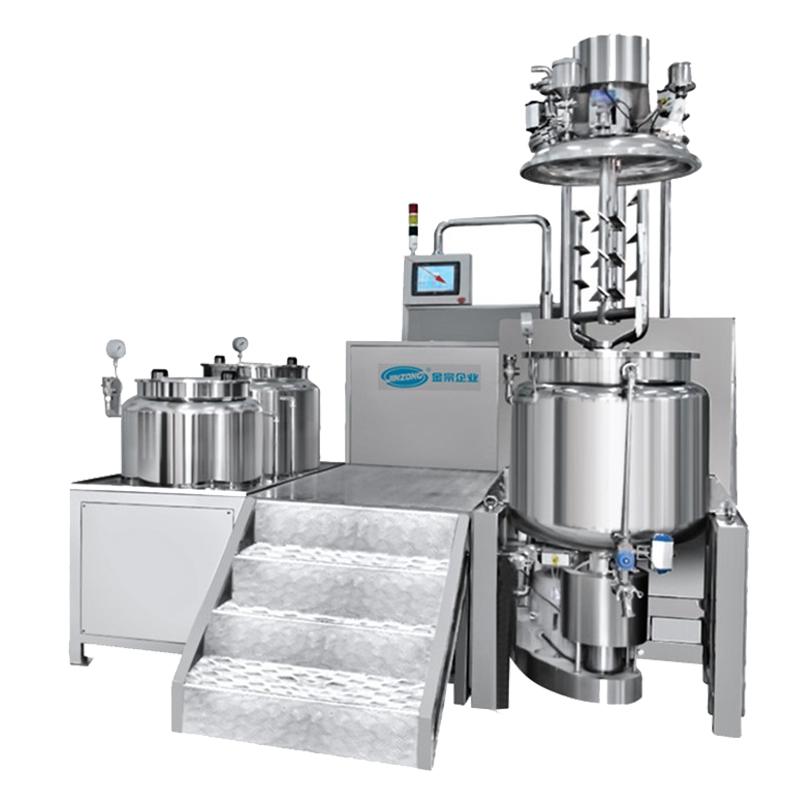 High-efficiency Vacuum Homogenizing Emulsifying Mixer